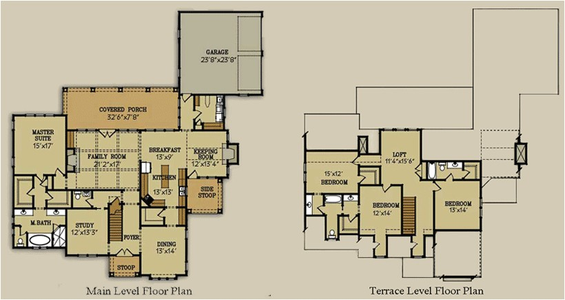 Habersham House Plans Habersham Cottage Floor Plan