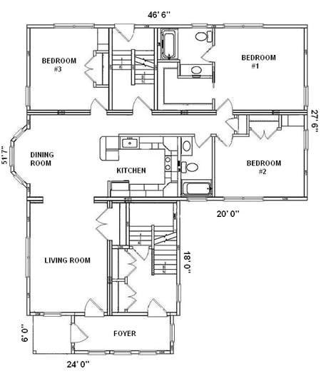 Hallmark Homes Floor Plan Floor Plan Detail Hallmark Modular Homes