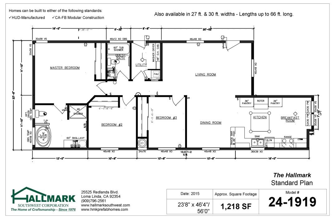 hallmark design homes floor plans