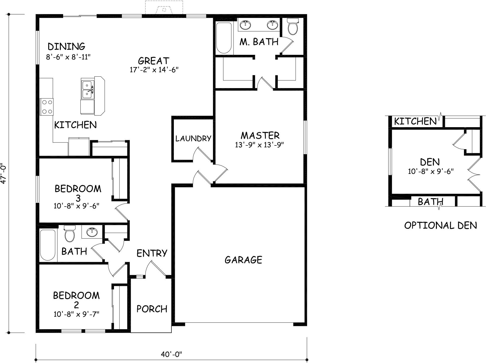 hayden homes floor plans beautiful the edgewood by hayden homes floor plan the 1408 square foot