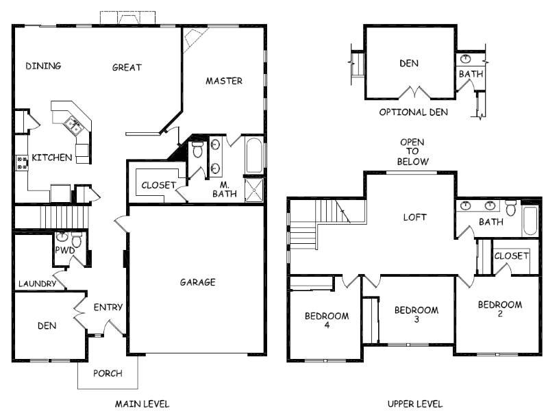 hayden homes umpqua floor plan