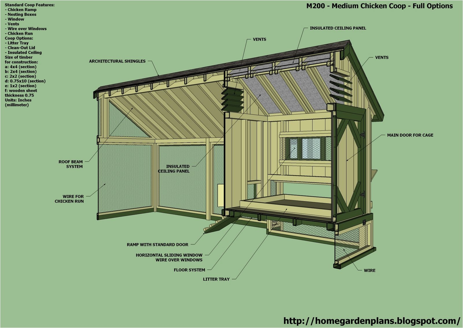 information free hen house plans uk