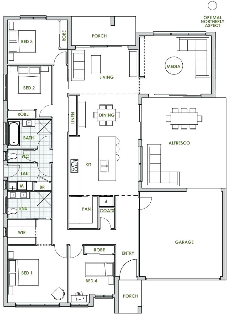 high efficiency house plans
