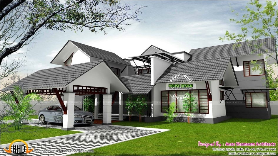 house plans with high pitched roofs