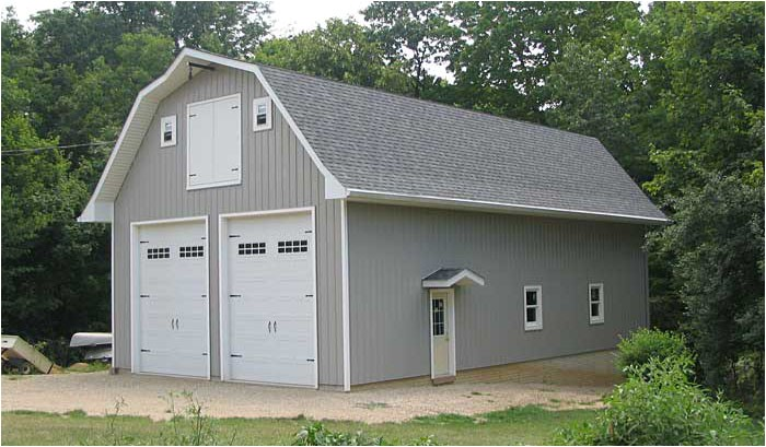Hip Roof Barn Homes Plans Hip Roof Barn