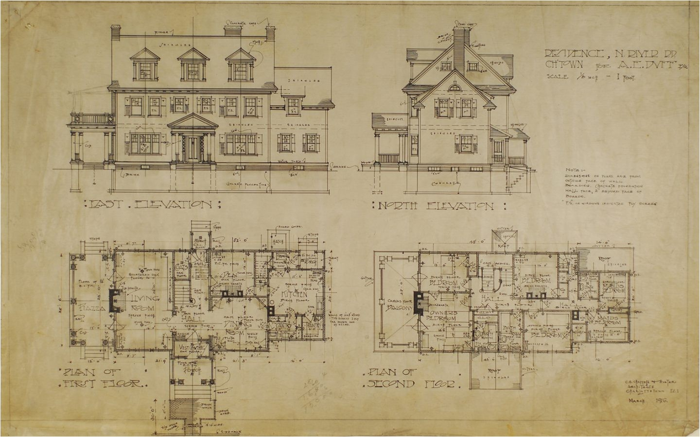 historic colonial house plan unusual