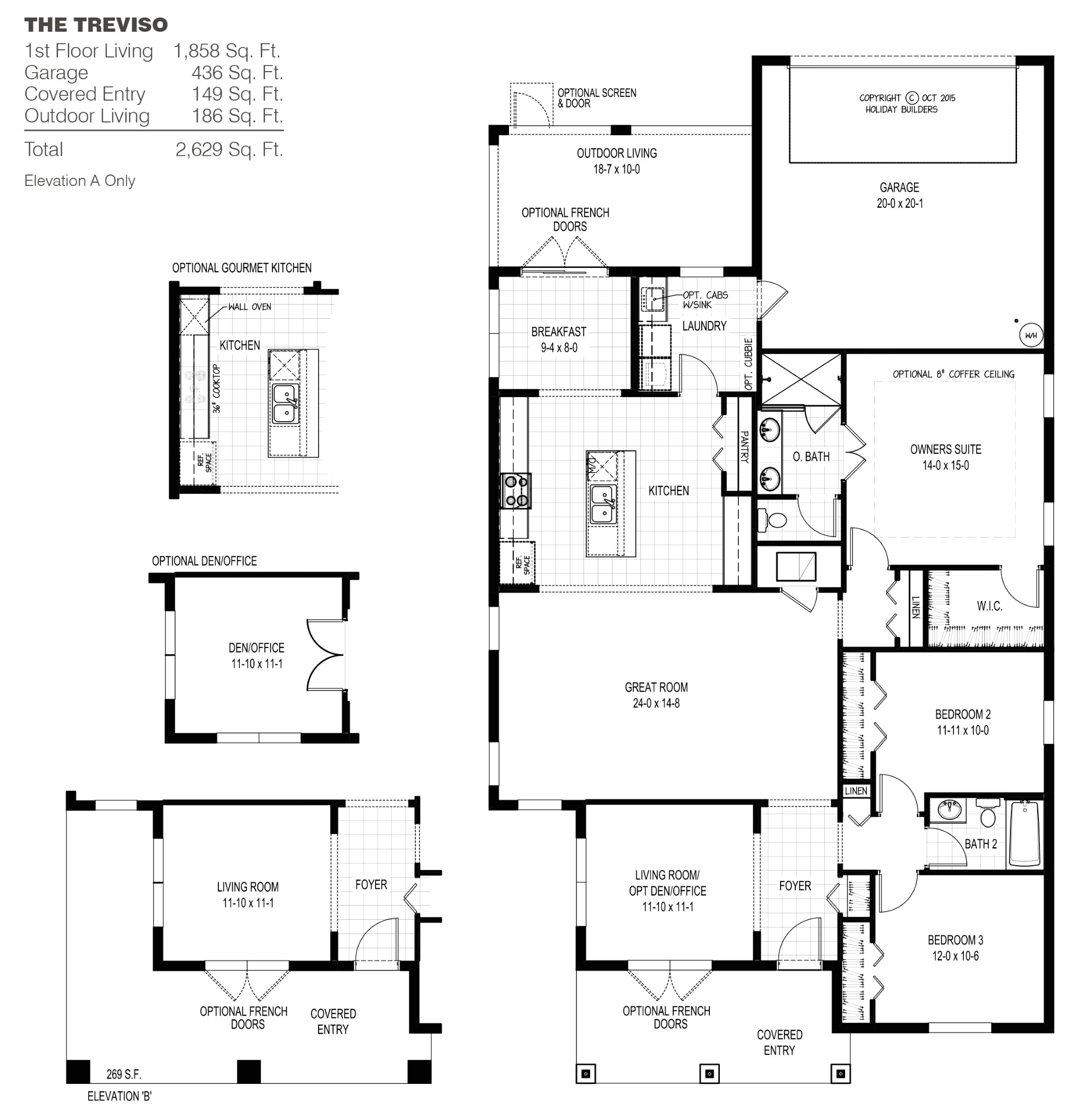 holiday builders floor plans beautiful palm bay