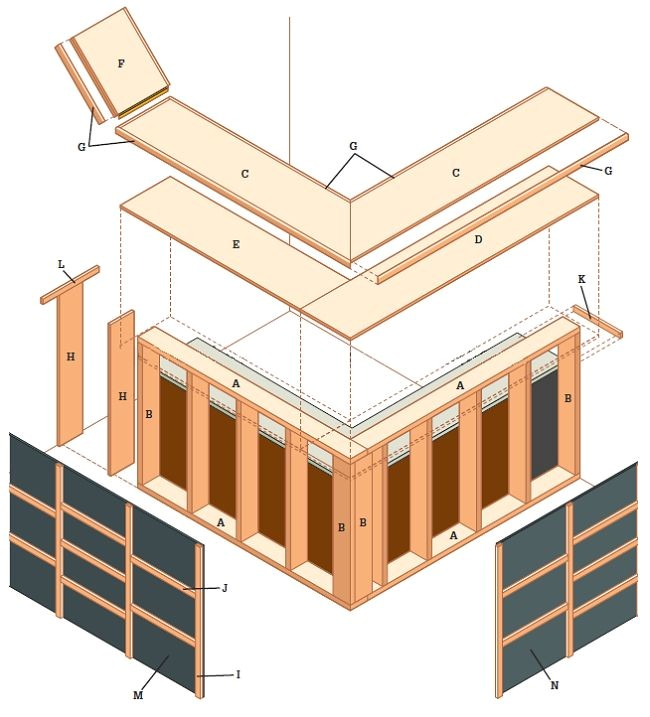 Home Bar Construction Plans How to Build A Dry Bar In Your Basement Diy Furniture