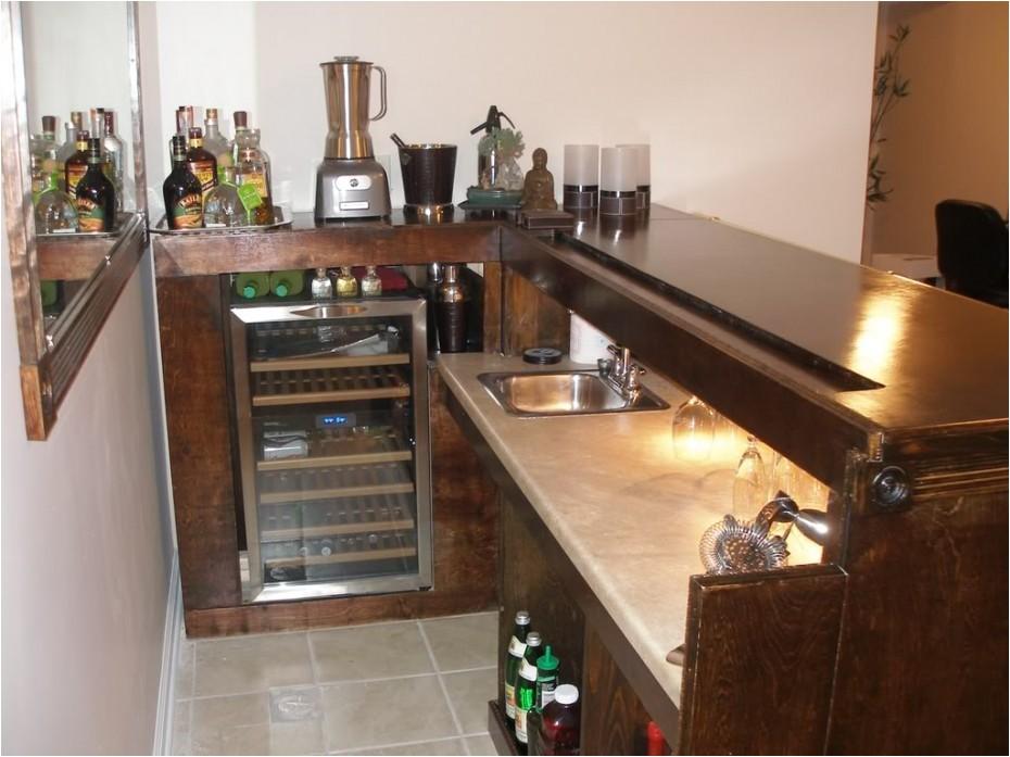 basement bar build