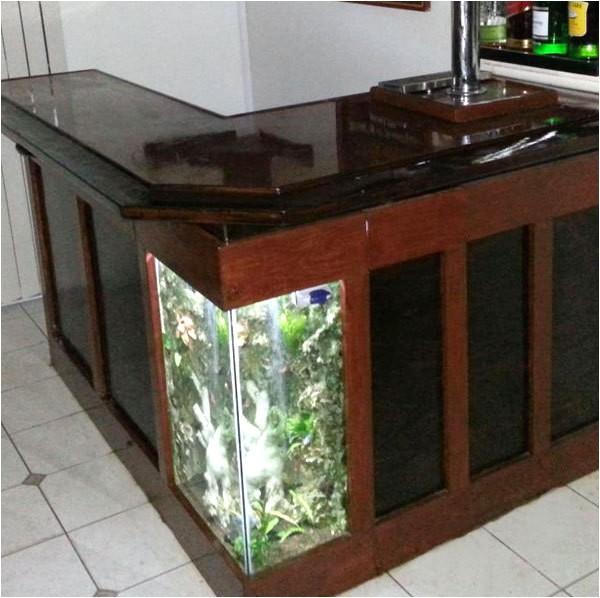 build your own aquarium bar