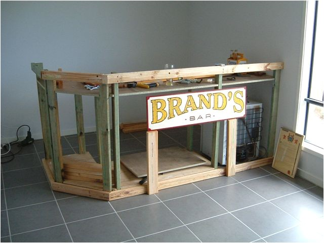 how to build a small home bar