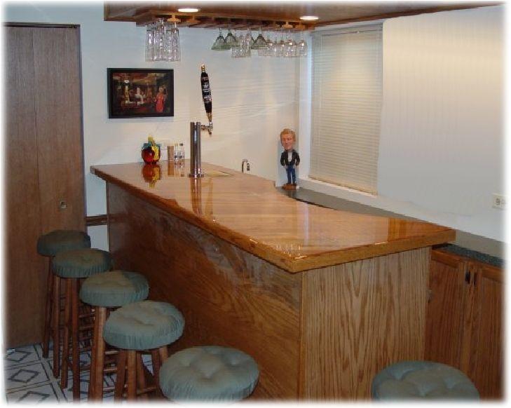 Home Bar Plans and Designs Frameless Home Bar Plans