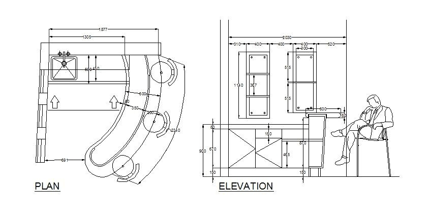 Home Bar Plans Free Download Bar Design Cad Drawing