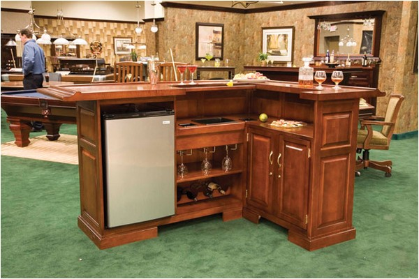 l shaped home bar designs