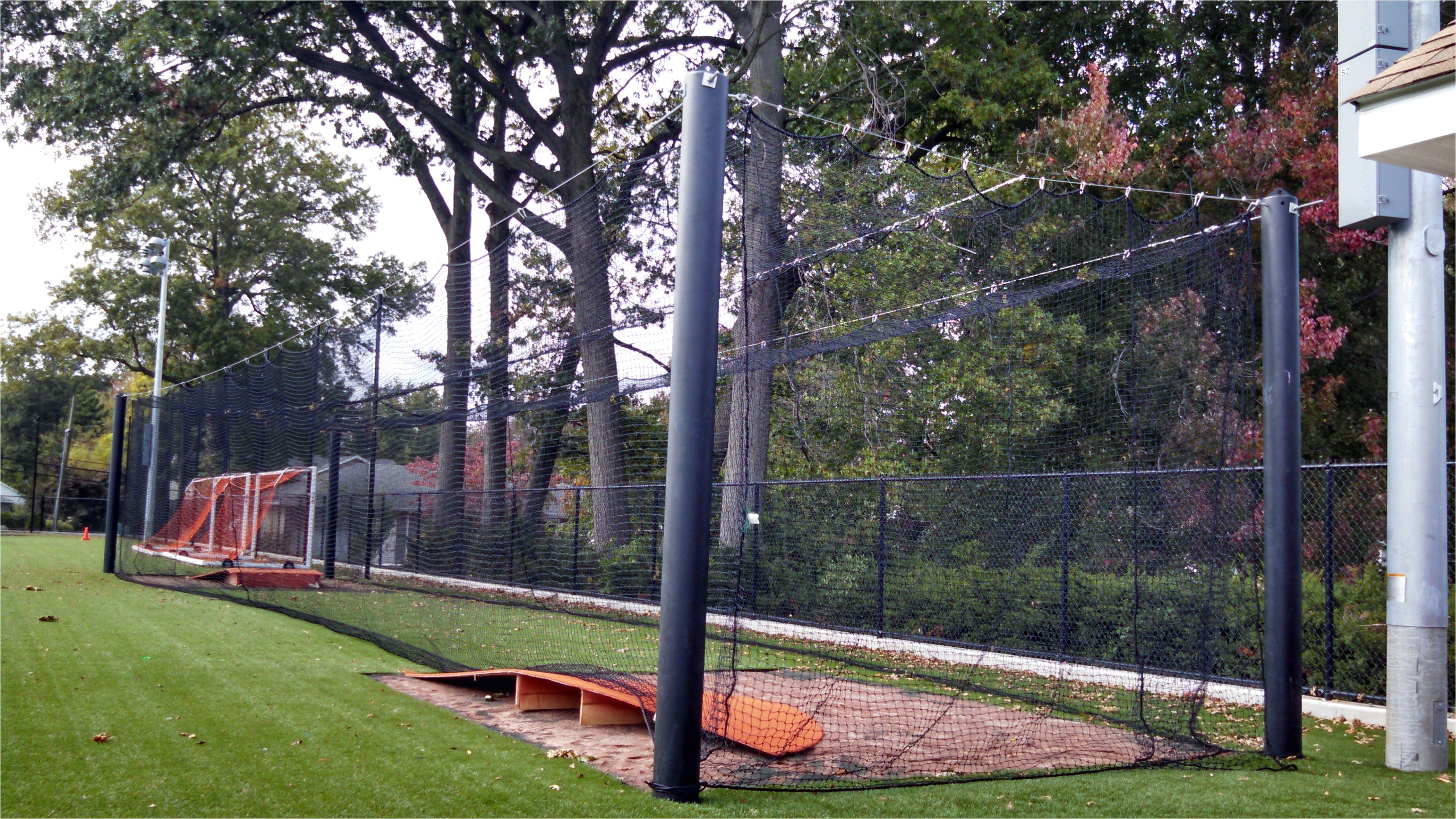 Home Batting Cage Plans Baseball Cages Pictures to Pin On Pinterest Pinsdaddy