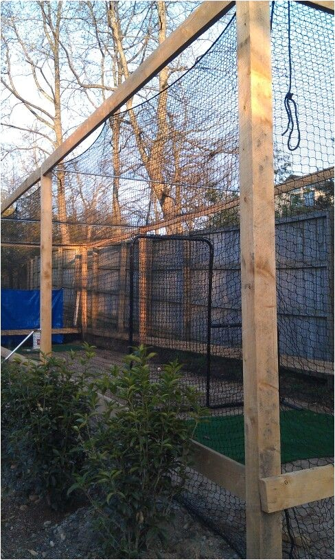 homemade batting cage plans