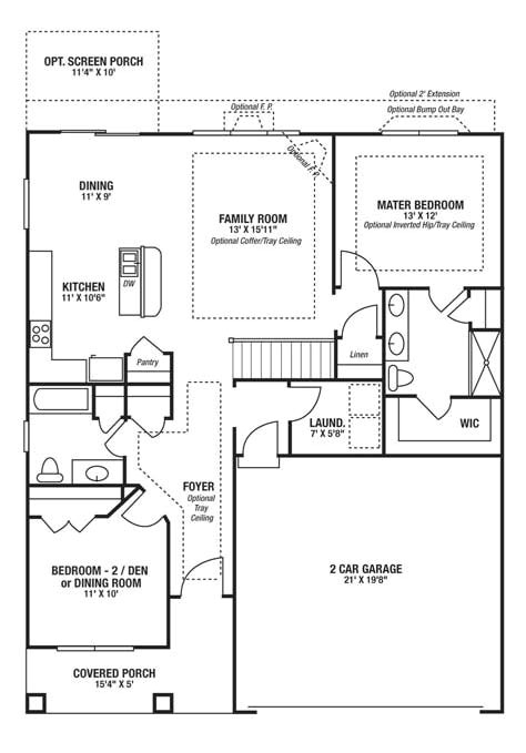 reily home designs elevation and floor plans cincinnati ohio regarding floor plan builder