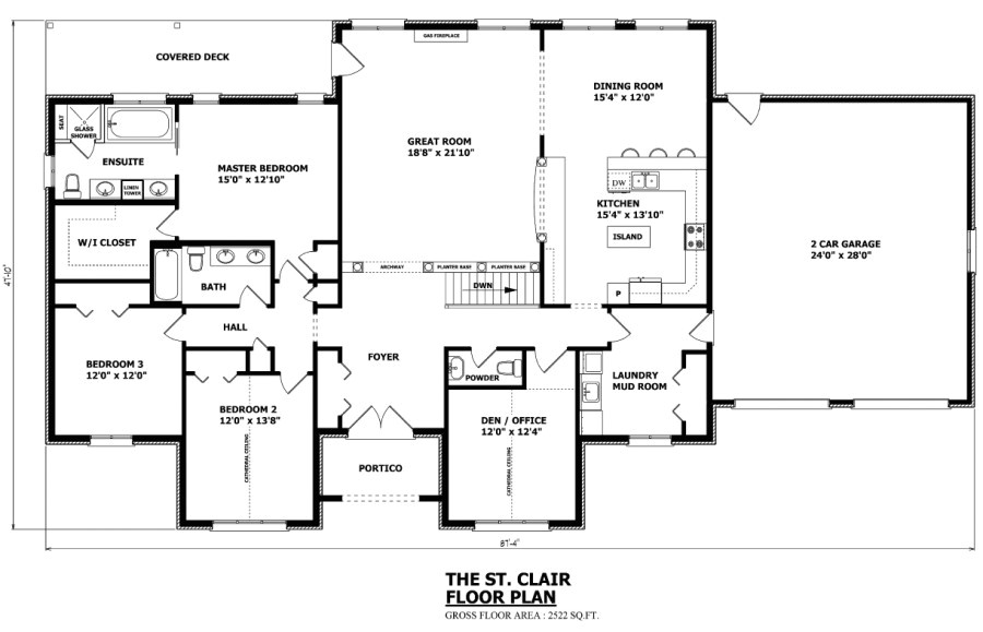 the st clair bungalow house plan