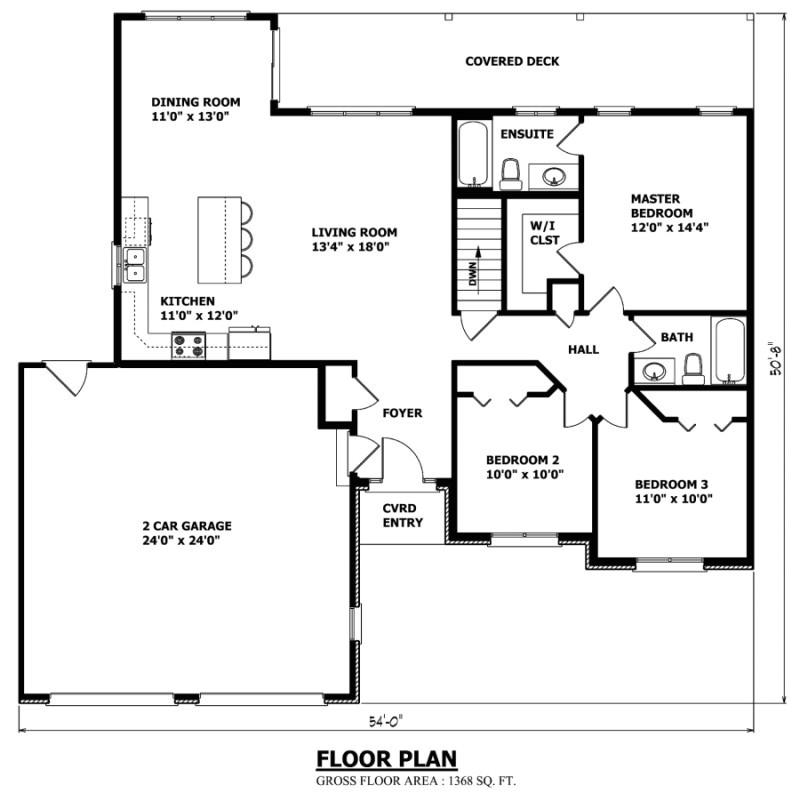the saskatchewan bungalow house plan