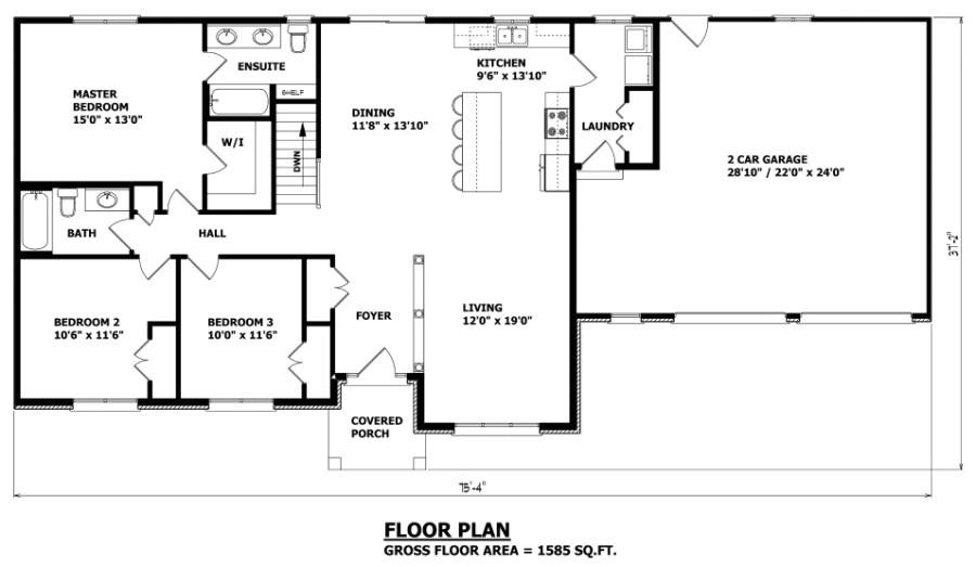 the haldimand bungalow house plan