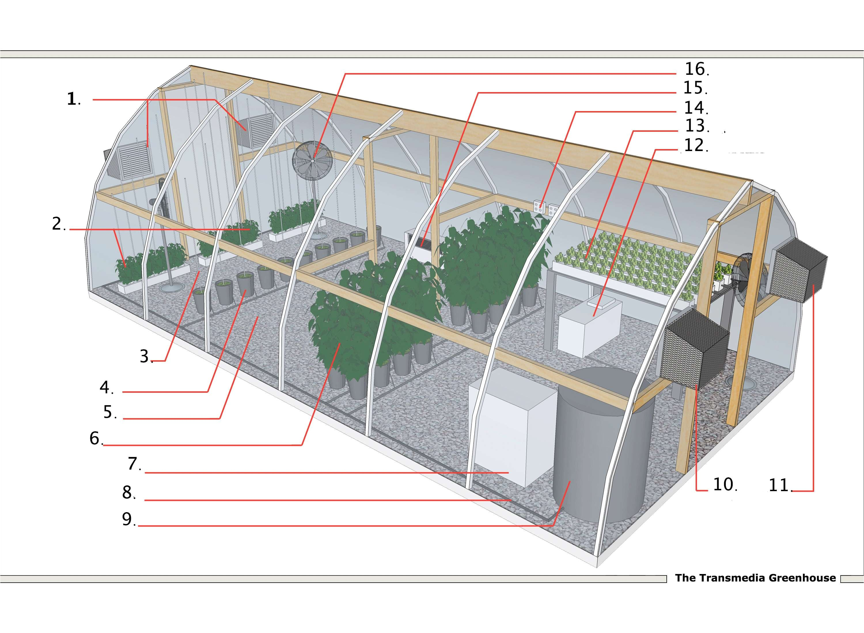 floor plan for greenhouse 12 by