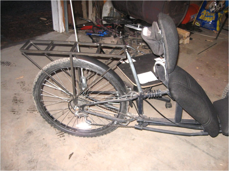 home built recumbent bike plans