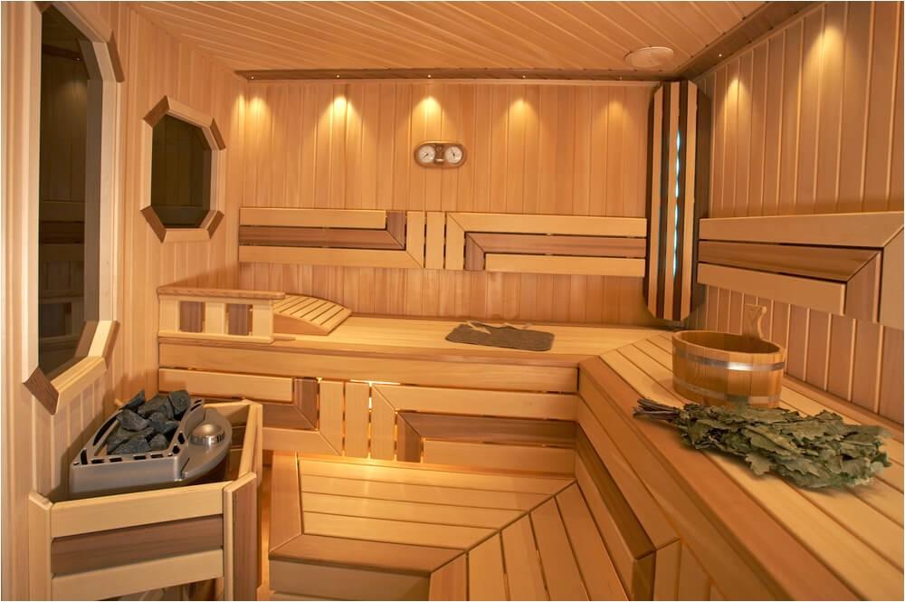 dry heat home sauna designs