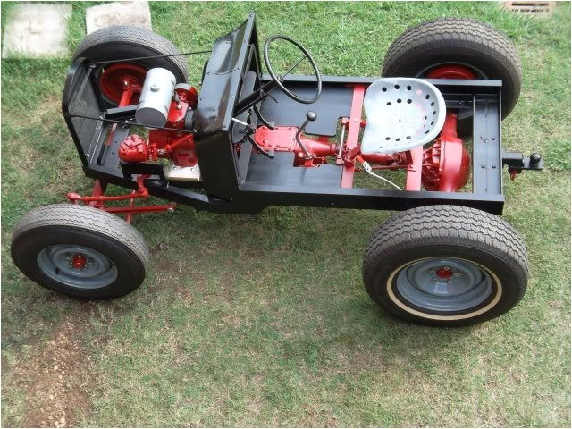 Home Built Tractor Plans Home Built Power Pup Tractor More Information About