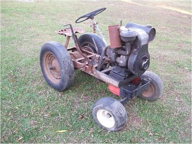 home built tractor plans