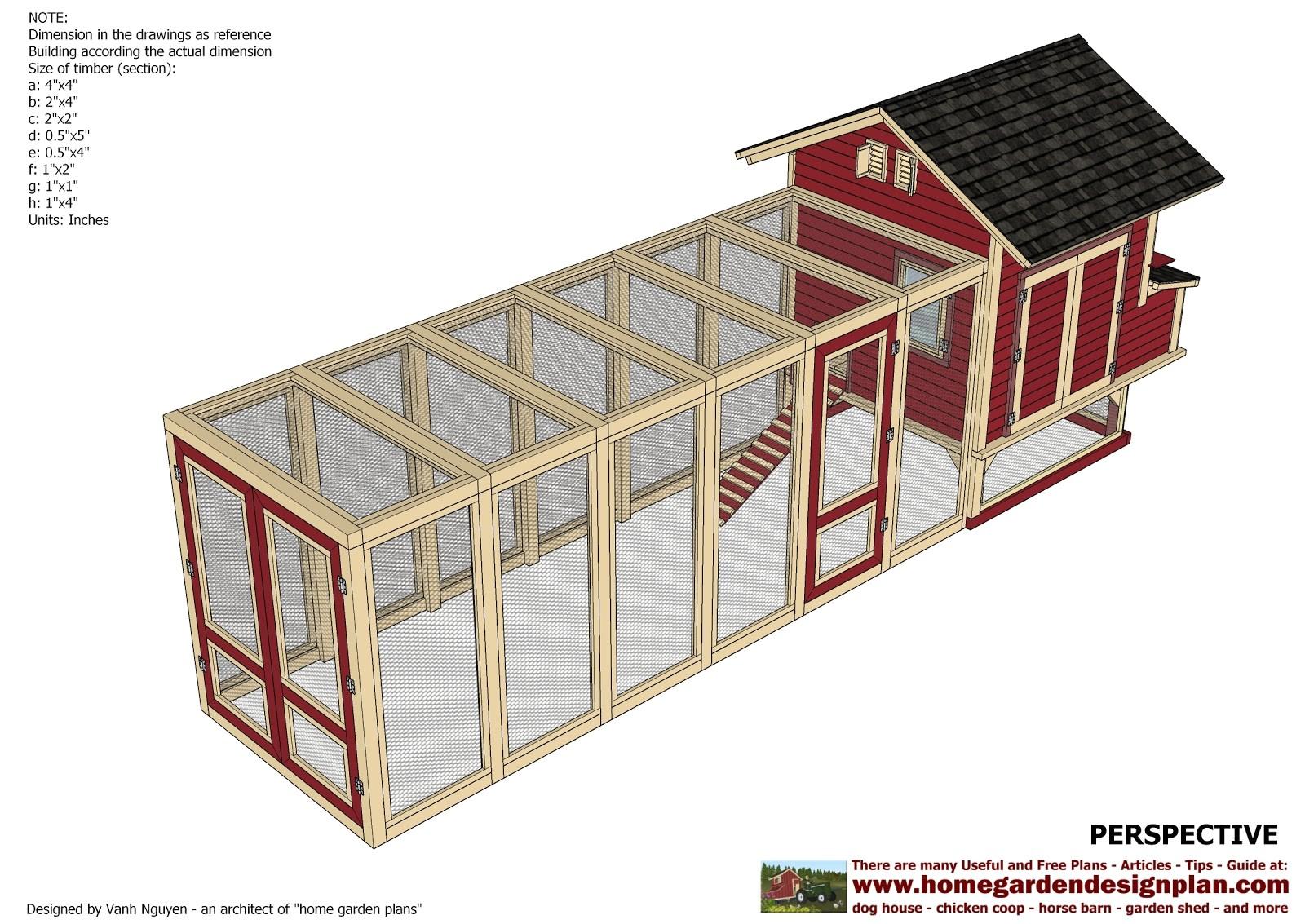 Home Chicken Coop Plans Home Garden Plans Home Garden Plans L102 Large Chicken