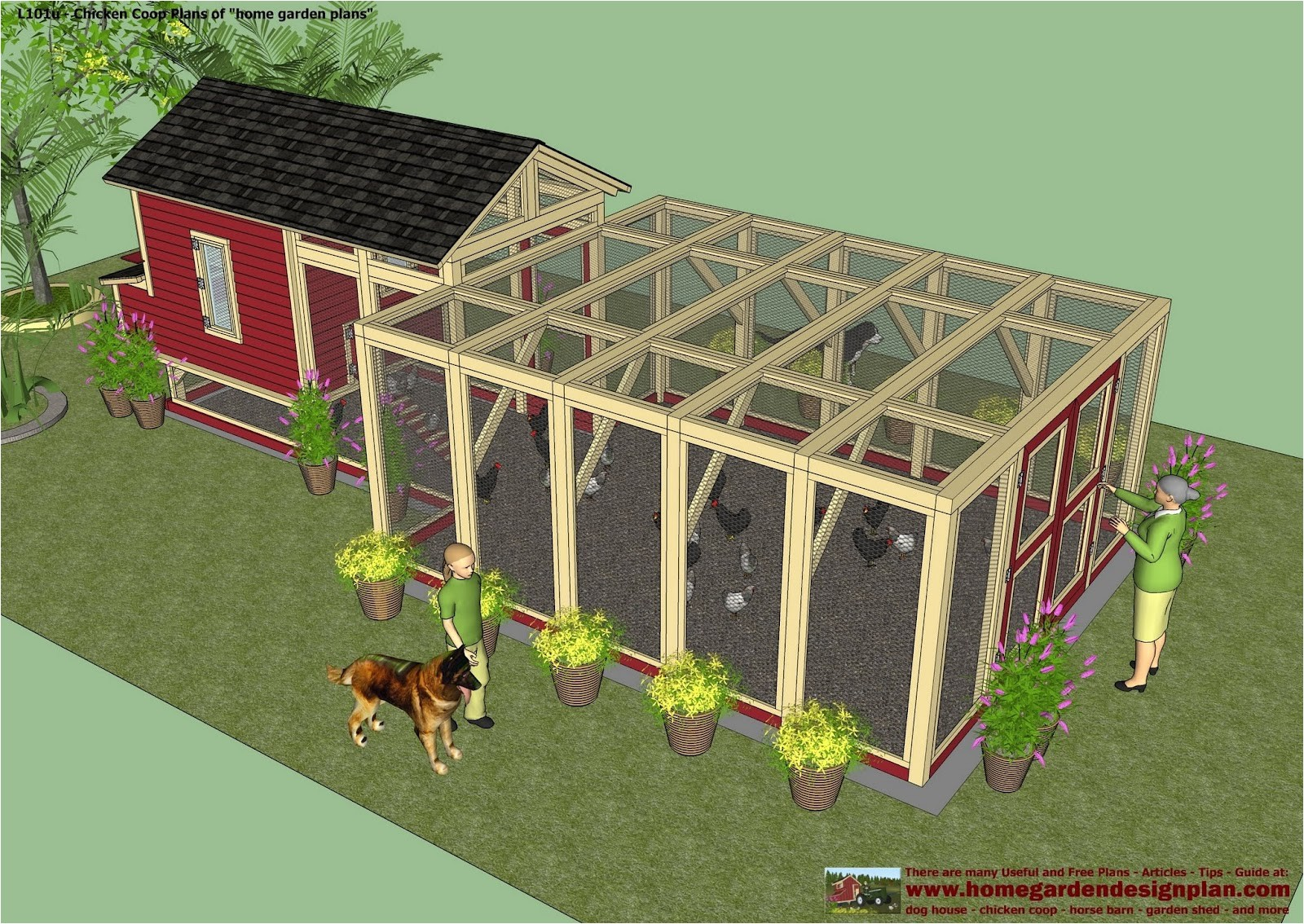 l101u free chicken coop plans how to