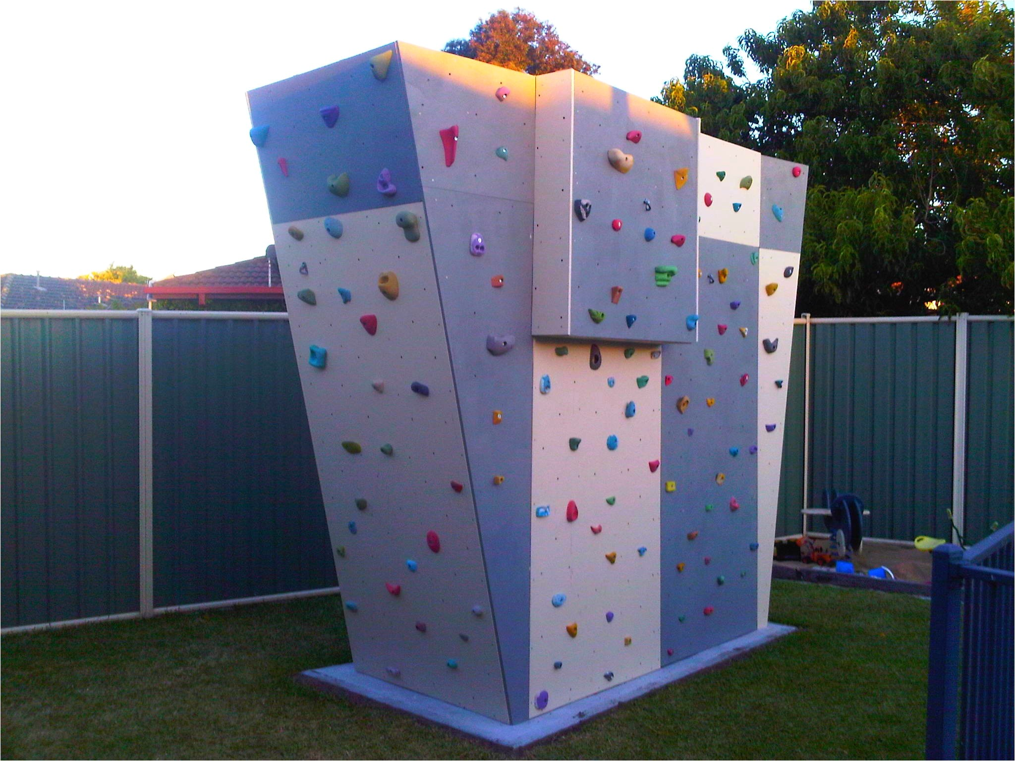 endearing climbing wall designs
