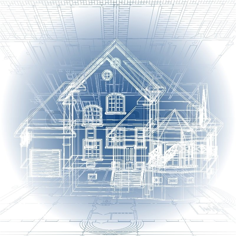 architectural background part of architectural project architectural plan technical project drawing technical letters architect at work architecture planning on paper construction plan vector 4503526
