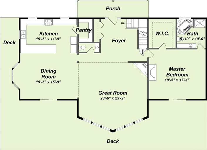 awesome lake cabin floor plans with loft pictures