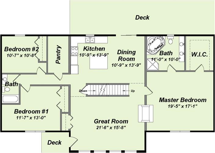 home creations floor plans