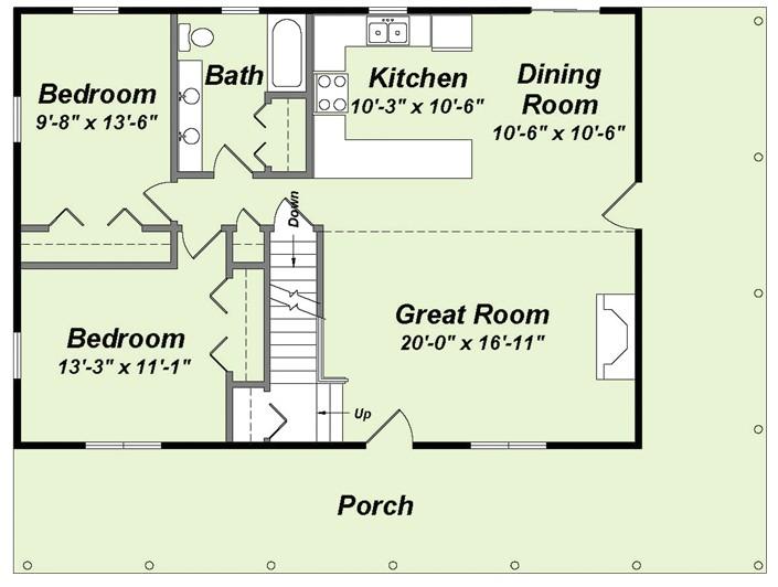marylander floor plan