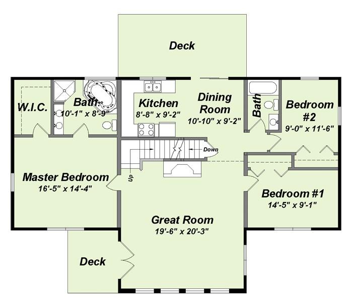 shanango floor plan
