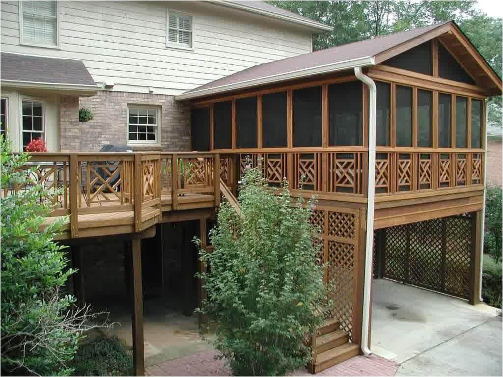 covered deck designs