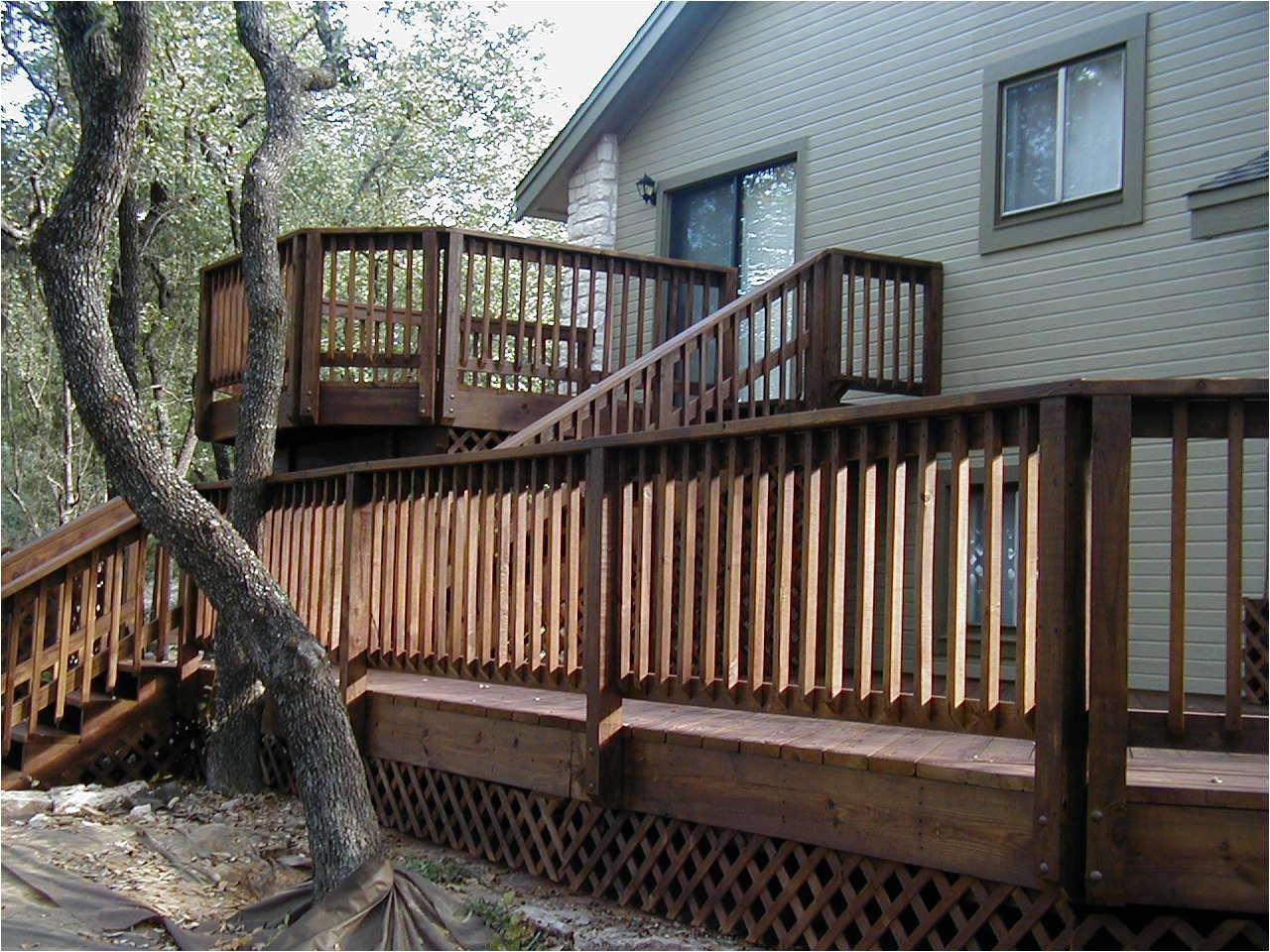exceptional house deck plans 12 split level home deck designs