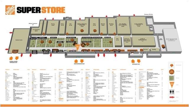 home depot floor plans