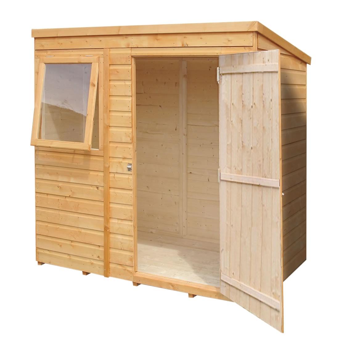 pent shed plans 50
