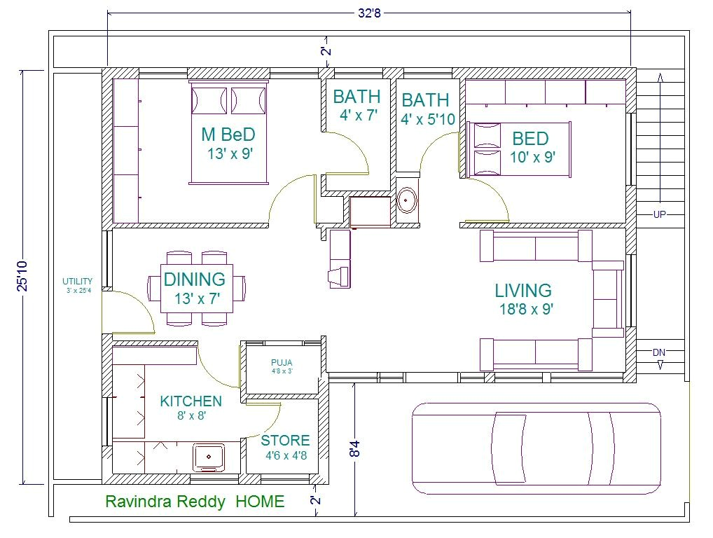 house plan north facing ravi
