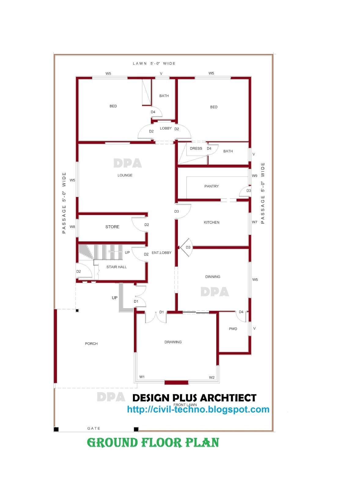 Home Design Plans Home Plans In Pakistan Home Decor Architect Designer
