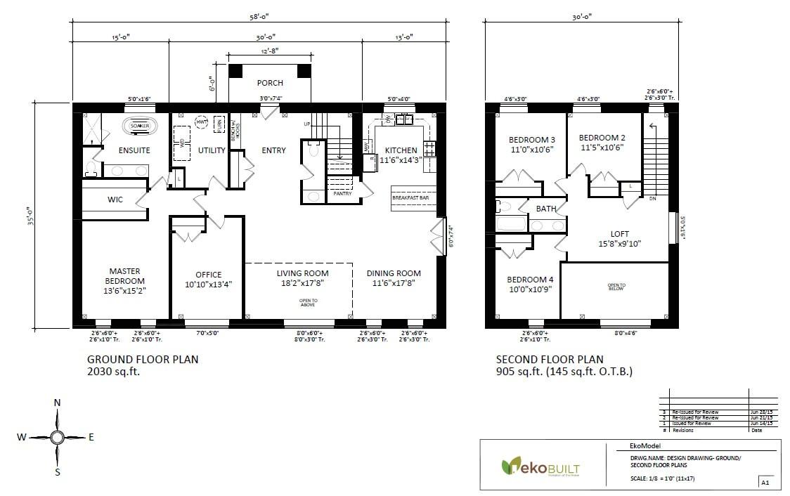 ottawa passive house plans