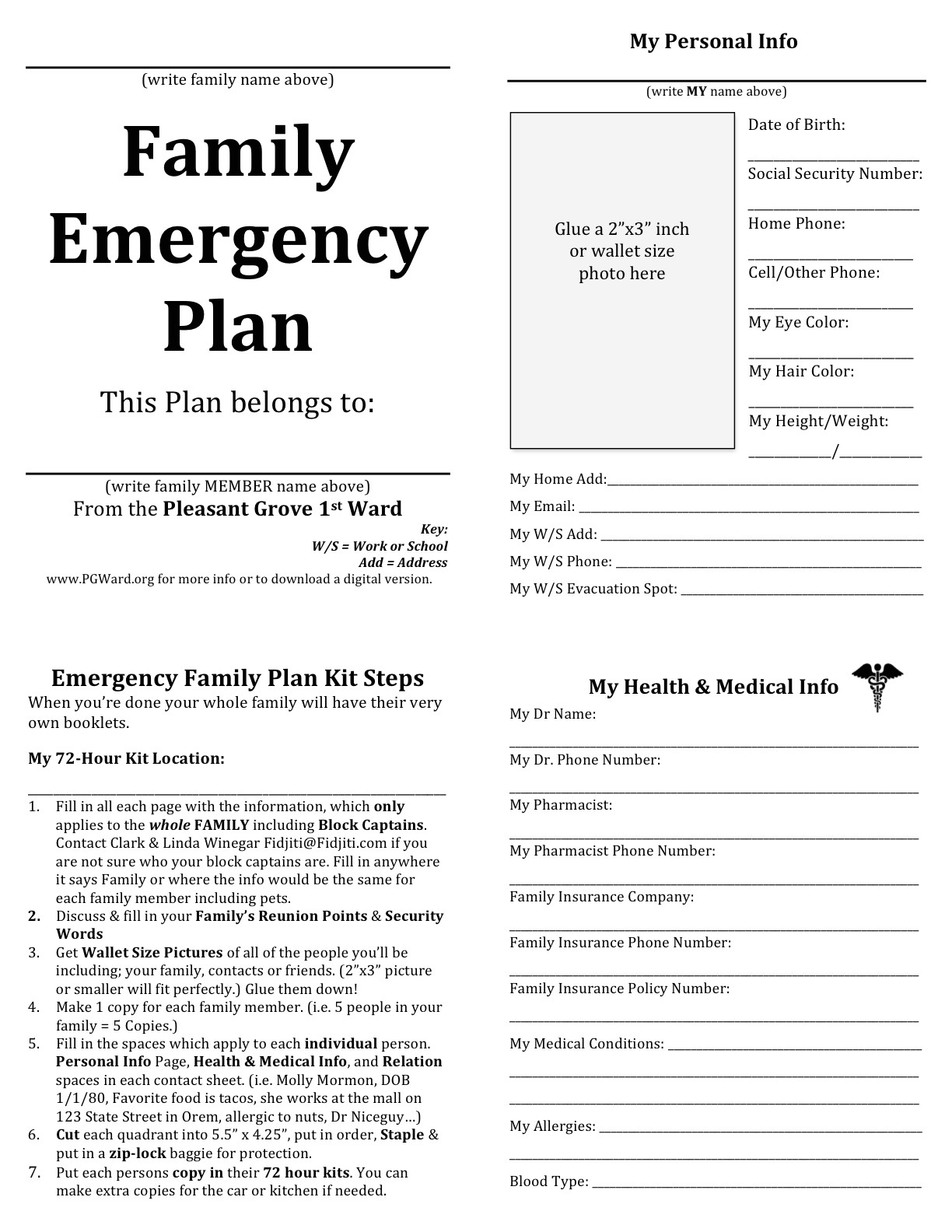 emergency planning quotes
