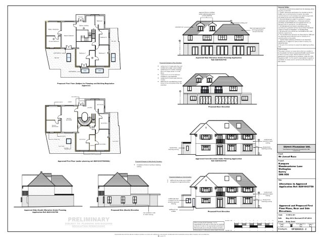 planning permission for extension to side of house