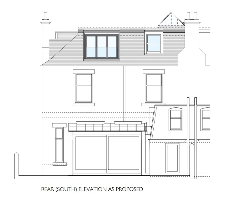 house extension planning permission scotland