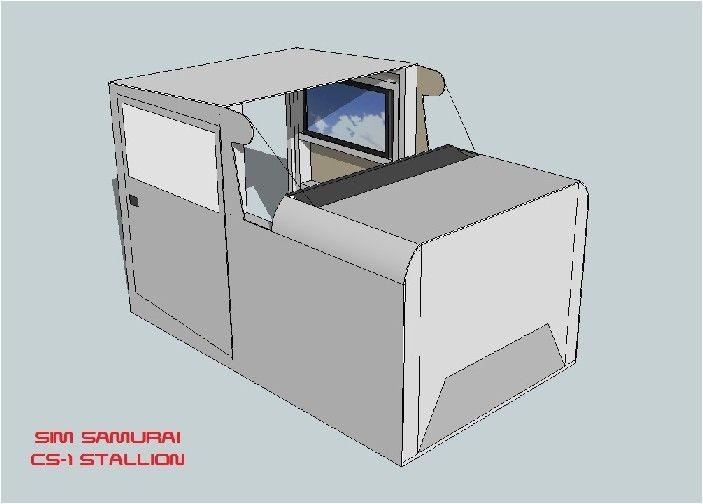 flight sim cockpit