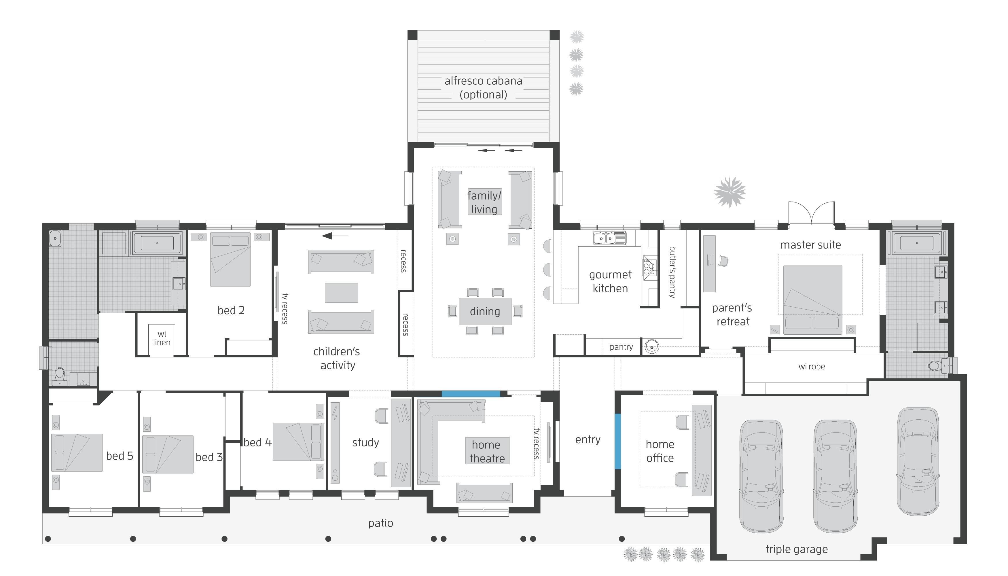 australian home plans floor plans unique house plans australia country popular house plan 2017