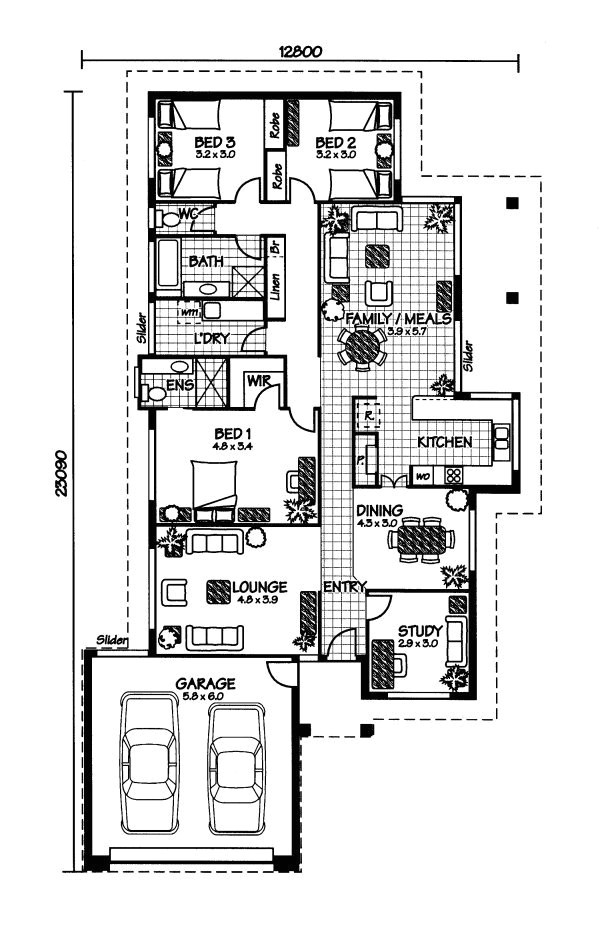 Home Floor Plans Australia House Plans and Design House Plans Australia Prices